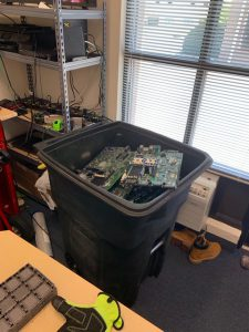 Servers from old law firm pick up in Paramus, New Jersey